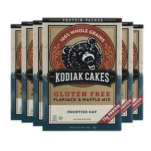 Kodiak Cakes Gluten Free Waffle Mix 6 Pack