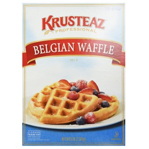 Krusteaz Belgian Waffle Mix 5 Lbs