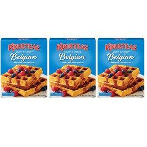 Krusteaz Light Crispy Belgian Waffle Mix 3 Pack