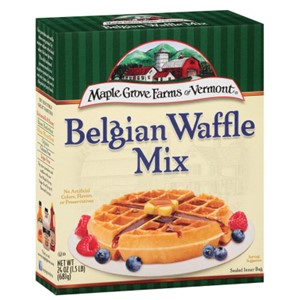 Maple Grove Farms Belgian Waffle Mix