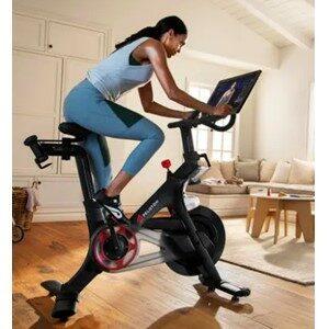 Women Riding Bike Watcing Program