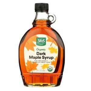 365 Whole Foods Organic Maple Syrup Dark
