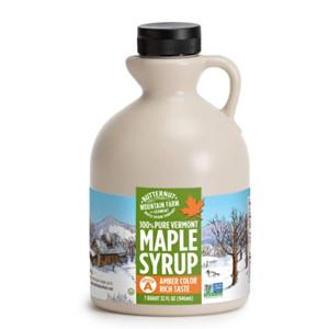 Butternut Mountain Farm Maple Syrup Amber