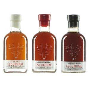 Escuminac Organic Maple Syrup 3-Pack