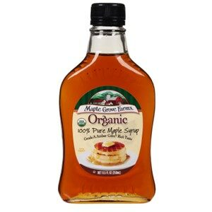 Maple Grove Farms Organic Maple Syrup Amber