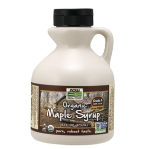 NOW Foods Organic Maple Syrup Dark Color