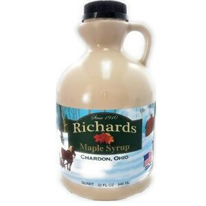 Richards Maple Products Maple Syrup Very Dark