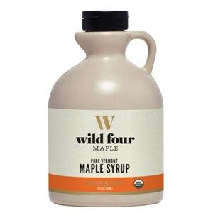 Wild Four Organic Gluten Free Maple Syrup Amber Color