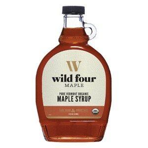 Wild Four Organic Maple Syrup Dark