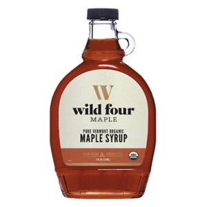 Wild Four Organic Maple Syrup Dark Color