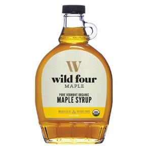 Wild Four Organic Maple Syrup Golden Color